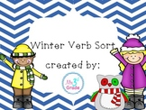 Winter Verb Sort