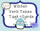 Winter Verb Tense Task Cards/Scoot