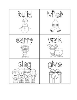 Winter Verbs