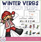 Winter Verbs!  Grammar Activities for Verb Tense & Sentences