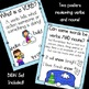 Winter Verbs Matching Game & Poster