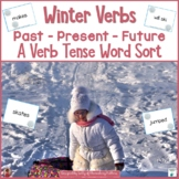 Winter Verbs: Past, Present, and Future