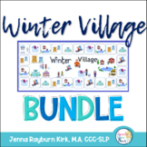 Winter Village BUNDLE: Social, Grammar, Language
