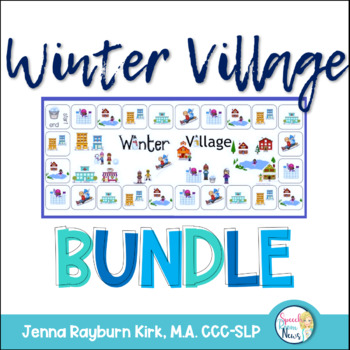 Winter Village BUNDLE: Social, Grammar, Language