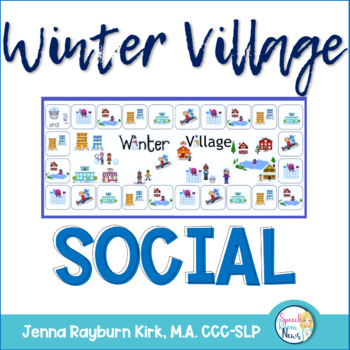 Winter Village: Social Language Activities