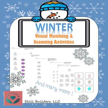 Winter Visual Perception Skills Pack - Occupational Therapy