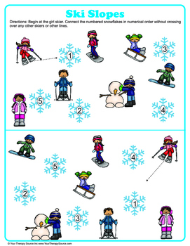 Winter Visual Perceptual Puzzles