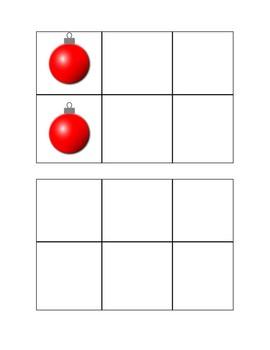 Winter Visual Spatial Worksheet Bundle