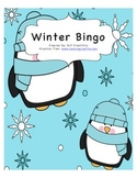 Winter Vocabulary Bingo