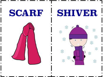 Winter Vocabulary Book