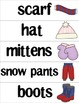 Winter Vocabulary Building Pack (Bilingual)