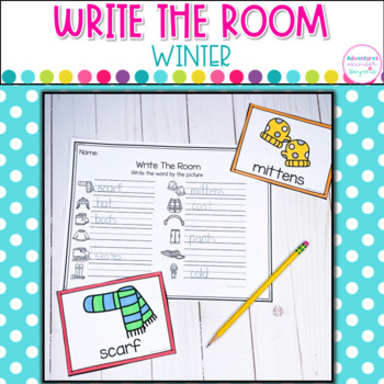 Winter Write The Room Cards