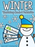 Winter Vocabulary Cards & Printables