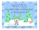 Winter Vocabulary Companion & Worksheets