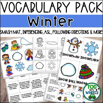 Winter Vocabulary Pack