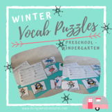 Winter Vocabulary Puzzles