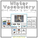 "Winter Vocabulary Real Photo ""I See"" Book for Special Education Classrooms"