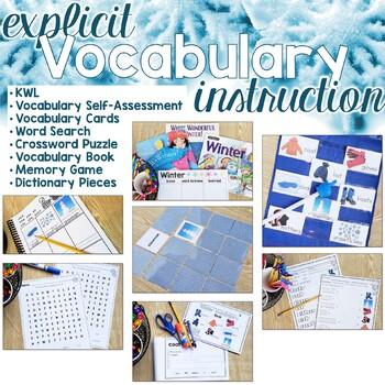Winter Vocabulary Unit
