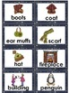 Vocabulary Word Cards: Winter