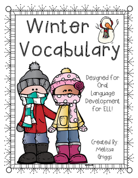 Winter Vocabulary Words