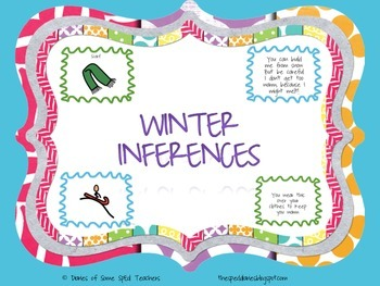 Winter Vocabulary and Inferences