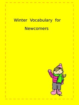 Winter Vocabulary for Newcomers