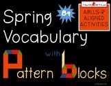 Spring Vocabulary with Pattern Blocks