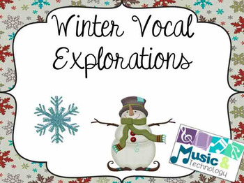 Winter Vocal Exploration Posters