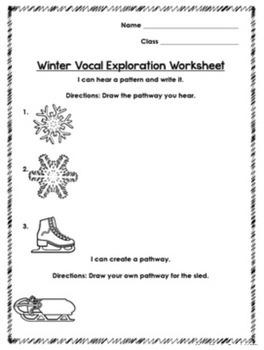 Winter Vocal Exploration Set