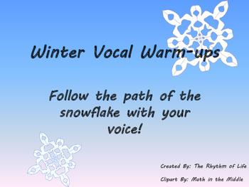 Winter Vocal Warm-ups