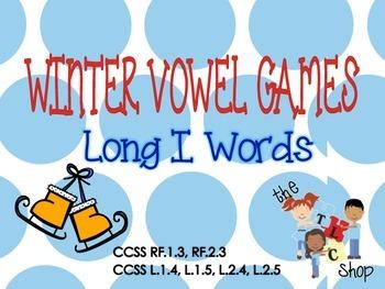 Winter Vowel Games - Long I