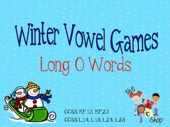 Winter Vowel Games - Long O