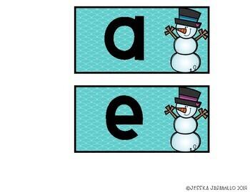Winter Vowel Sort