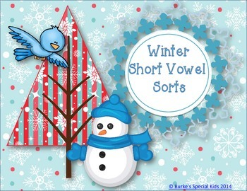 Winter Vowel Sorts