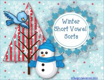 Winter Vowel Sorts