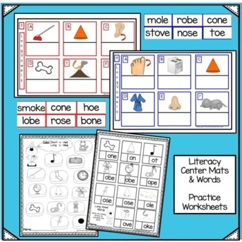 Winter Movement Song & Literacy Center Vowel Work - Polar Bear Polka