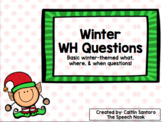 Winter WH Questions