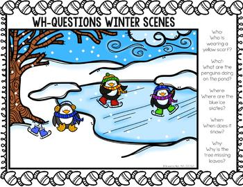 Winter WH-Questions