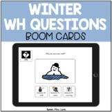 Winter WH Questions BOOM Cards – Who, What, When, Where, &