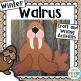 Arctic Walrus Winter Craft and Writing Activities