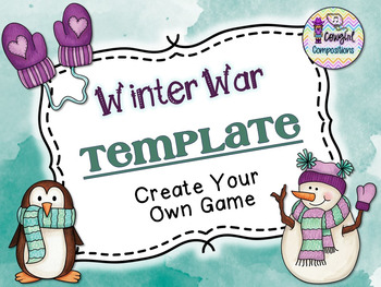 Winter War Template  - Create Your Own Game
