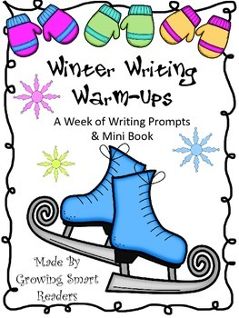 Winter Writing Warm Ups: A Week of Writing Prompts & Mini Book