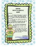 Winter Ways to Make 10 Game