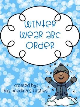 Winter Wear ABC Order