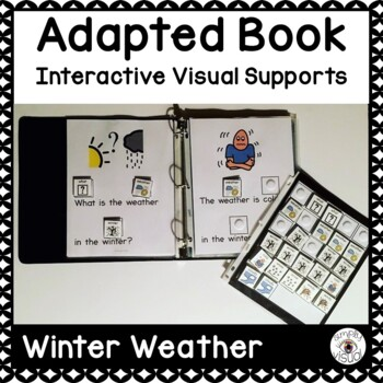 Winter Weather Adapted Book with Interactive Visuals