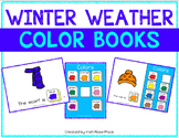 Winter Weather Color Books (Adapted Books)