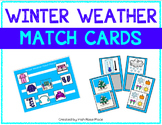 Winter Weather Match Cards
