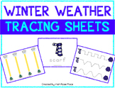 Winter Weather Tracing Sheets