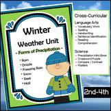 Winter Weather Unit - Forms of Precipitation