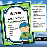 Winter Weather Unit - Forms of Precipitation